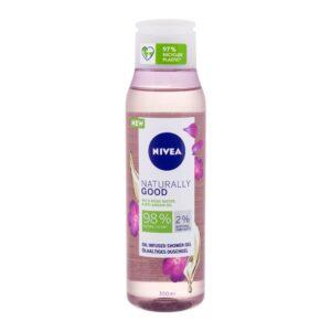 Nivea Naturally Good Wild Rose Water (Duššigeel, naistele, 300ml)