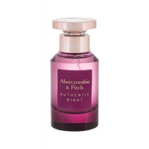 Abercrombie & Fitch Authentic Night (Parfüüm, naistele, 50ml)