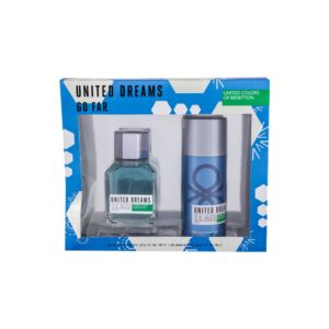 Benetton United Dreams Go Far (Tualettvesi, meestele, 100ml) KOMPLEKT!