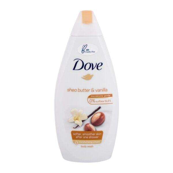 Dove Purely Pampering Shea Butter (Duššigeel, naistele, 450ml)