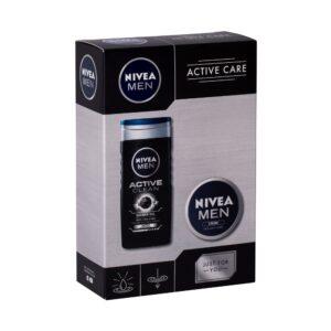 Nivea Men Active Clean (Duššigeel, meestele, 250ml) KOMPLEKT!