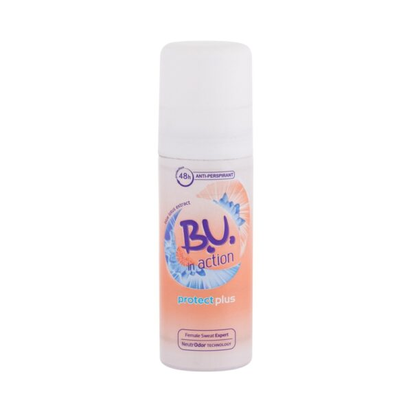 B.U. In Action Protect Plus (Deodorant, naistele, 50ml)