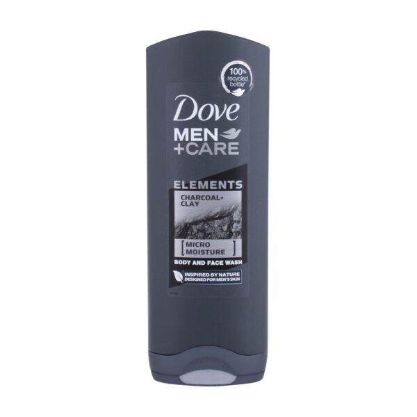 Dove Men + Care Elements Charcoal (Duššigeel, meestele, 250ml)