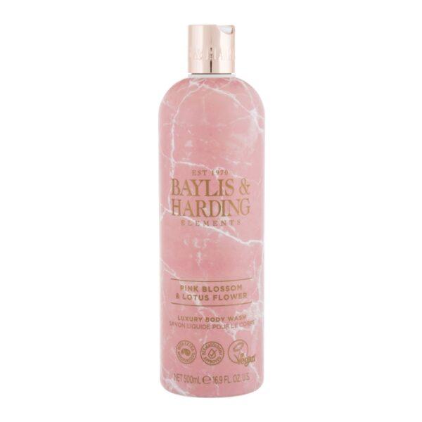 Baylis & Harding Elements Pink Blossom & Lotus Flower (Duššigeel, naistele, 500ml)