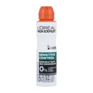 L´Oréal Paris Men Expert Sensitive Control (Deodorant, meestele, 150ml)