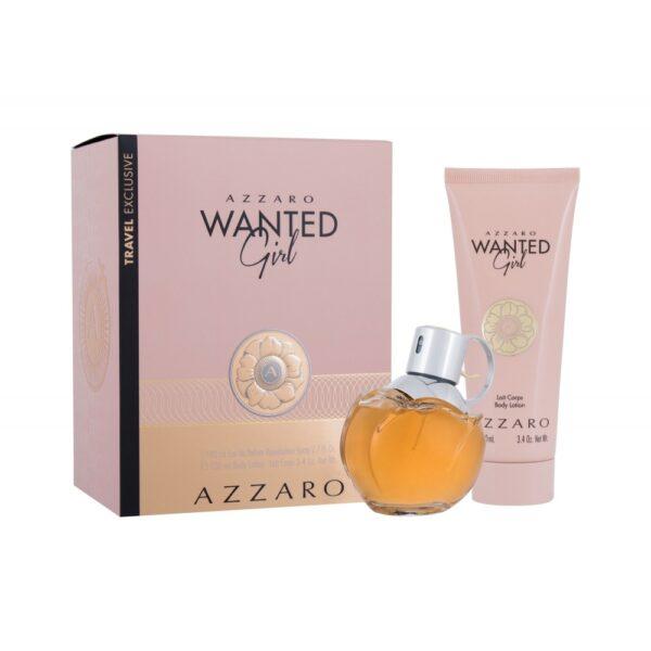 Azzaro Wanted Girl (Parfüüm, naistele, 80ml) KOMPLEKT!