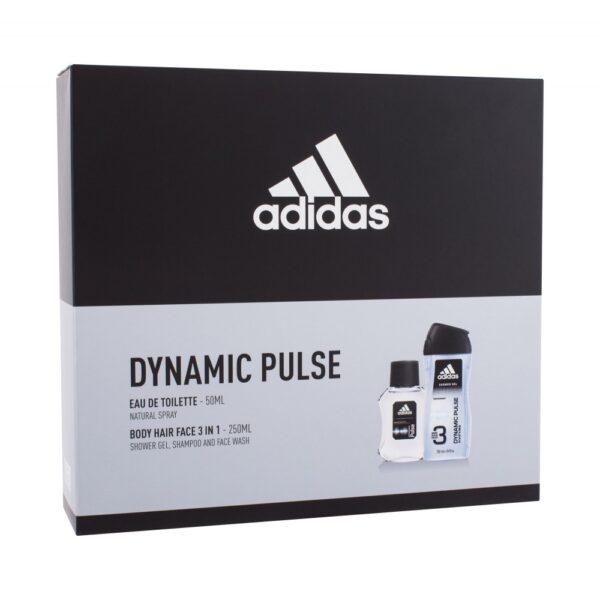 Adidas Dynamic Pulse (Tualettvesi, meestele, 50ml) KOMPLEKT!