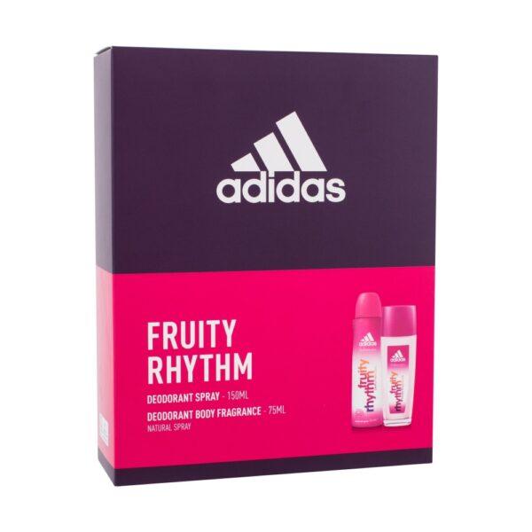 Adidas Fruity Rhythm For Women (Deodorant, naistele, 75ml) KOMPLEKT!