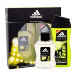Adidas Pure Game (Tualettvesi, meestele, 100ml) KOMPLEKT!