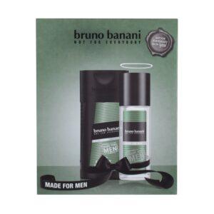 Bruno Banani Made For Men (Deodorant, meestele, 75ml) KOMPLEKT!