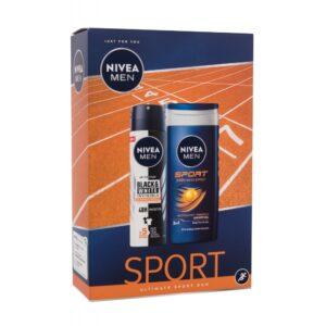 Nivea Men Sport Ultimate Sport Duo (Duššigeel, meestele, 250ml) KOMPLEKT!