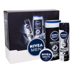 Nivea Men Active (Duššigeel, meestele, 250ml) KOMPLEKT!